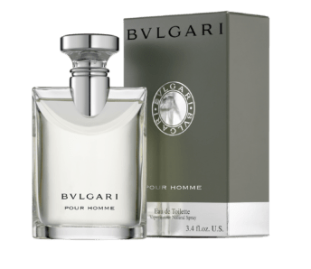 BVLGARI pour homme bottle and box