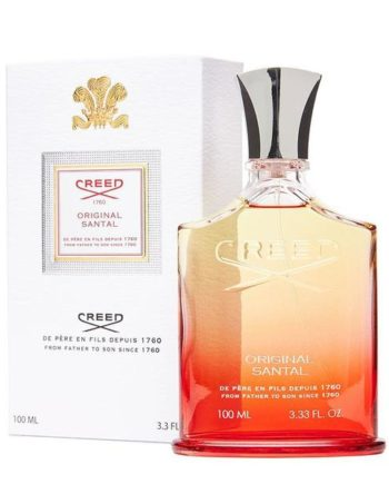 Creed-santal-perfume-bottle and box